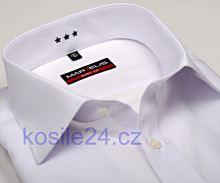 Koszula Marvelis Body Fit – biała - krótki rękaw
