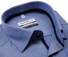 Koszula Marvelis Comfort Fit – niebieska z wyszytym wzorem w romby