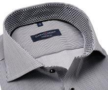 Koszula Casa Moda Comfort Fit Premium – z czarnym prąźkiem - super długi rękaw