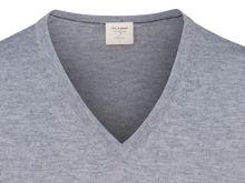 Sweter Olymp Level Five z wełny merino z domieszką jedwabiu - szary