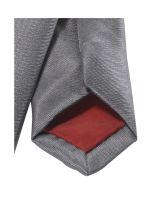 Krawat super slim Olymp - jasnoszary