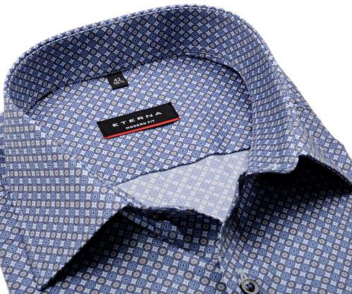 Koszula Eterna Modern Fit - z niebieskimi pierścieniami