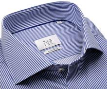Koszula Eterna 1863 Modern Fit Two Ply – ekskluzywna z niebieskim paskiem