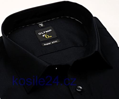 Czarna koszula Olymp Super Slim