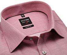 Koszula Olymp Level Five - jasnoczerwona - extra długi rękaw