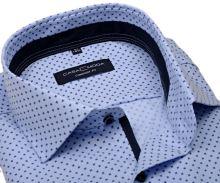 Koszula Casa Moda Comfort Fit Premium – jasnoniebieska z wzorem - super długi rękaw