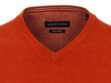 Bawełniany sweter Casa Moda - pomarańczowy