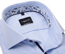 Koszula Venti Modern Fit – jasnoniebieska z wewnętrzną stójką - super długi rękaw