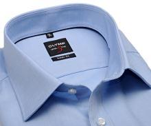 Koszula Olymp Level Five Twill – luksusowa, nieprześwitująca jasnoniebieska