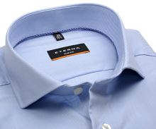 Koszula Eterna Slim Fit Twill - jasnoniebieska - super długi rękaw