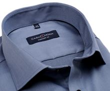 Koszula Casa Moda Comfort Fit Twill - luksusowa stałowo niebieska - super długi rękaw