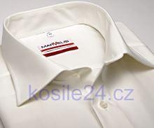 Koszula Marvelis Modern Fit Uni - w kolorze champagne