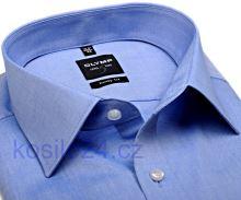 Koszula Olymp Level Five Chambray jasnoniebieska - extra długi rękaw