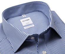 Koszula Olymp Comfort Fit Twill – w ciemnoniebieskie paski