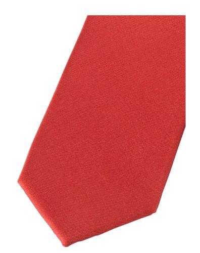 Krawat super slim Olymp - jasnoczerwony