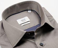 Koszula Eterna 1863 Comfort Fit Twill - luksusowa w kolorze taupe