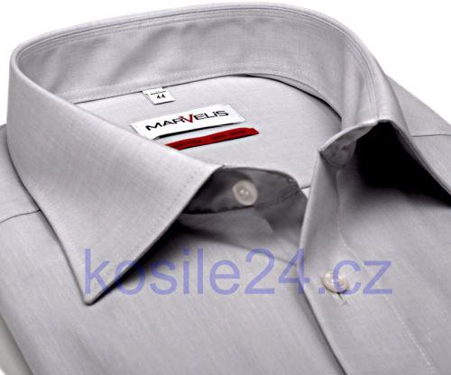 Koszula Marvelis Comfort Fit Chambray – jasnoszara