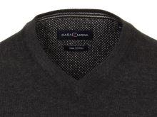 Bawełniany sweter Casa Moda - antracytowy