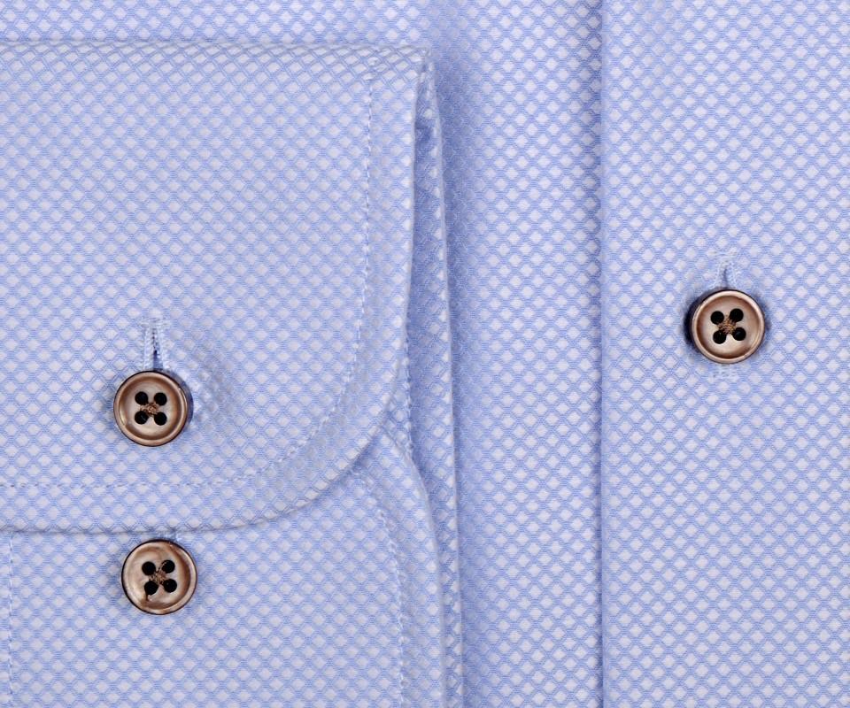 Ekskluzywna jasnoniebieska koszula męska Eterna 1863 z  ltPQW