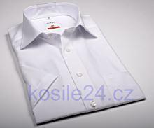 Koszula Olymp Luxor Modern Fit - biała - krótki rękaw