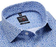 Koszula Olymp Level Five – ekskluzywna w jasnoniebieski wzór kwiatów