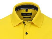Koszulka polo Casa Moda - żółta z kołnierzykiem