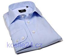 Koszula Eterna 1863 Modern Fit Twill - luksusowa - błękitna