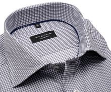 Koszula Eterna Comfort Fit – w szarą krateczkę