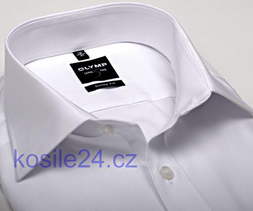 Biała koszula Olymp Level Five - krótki rękaw