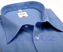 Koszula Olymp Luxor Comfort Fit Fil a Fil - niebieska