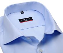 Koszula Eterna Modern Fit Cover - jasnoniebieska luksusowa i nieprześwitująca - extra długi rękaw