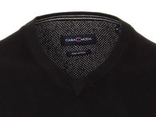 Bawełniany sweter Casa Moda – czarny