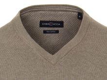 Bawełniany sweter Casa Moda - jasnobrązowy