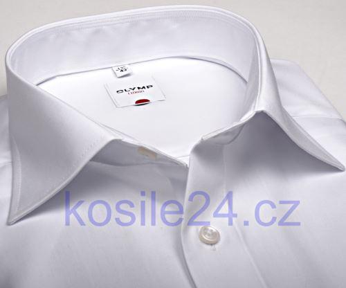 Koszula Olymp Luxor Comfort Fit - biała - skrócony rękaw