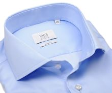 Koszula Eterna 1863 Slim Fit Twill - luksusowa - błękitna