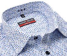 Koszula Marvelis Body Fit – z niebieskimi odciskami