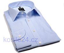 Koszula Olymp Level Five – w jasnoniebieskie prążki