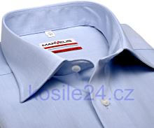 Koszula Marvelis Modern Fit Chambray – jasnoniebieska