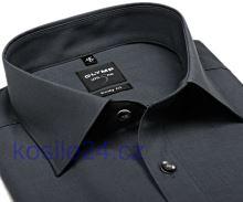Koszula Olymp Level Five Chambray – antracytowa