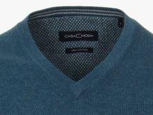 Bawełniany sweter Casa Moda – niebiesko-zielony