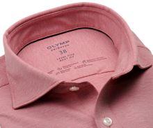 Koszula Olymp Level Five 24/Seven – luksusowa elastyczna jasnoczerwona