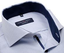 Koszula Casa Moda Comfort Fit Premium – w jasnoniebieskie wyszyte prążki i z wewnętrzną stójką