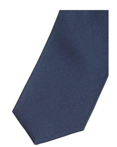 Krawat super slim Olymp - niebieski