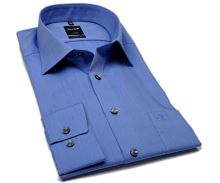 Koszula Olymp Luxor Modern Fit Chambray - błękitna - extra długi rękaw