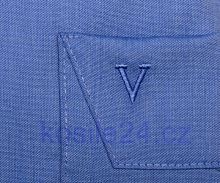 Koszula Marvelis Comfort Fit Chambray niebieska