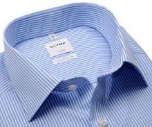 Koszula Olymp Comfort Fit Twill – w jasnoniebieskie paski
